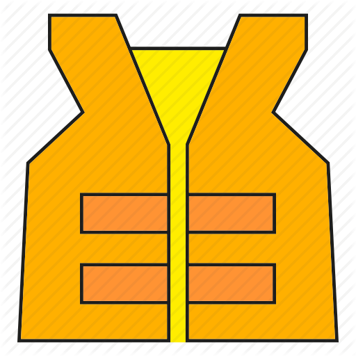 Safety, Safety Vest, Vest Icon