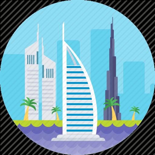 Burj Al Arab, Dub Dubai Luxury Hotel, Tower Of Arab, Uae Icon