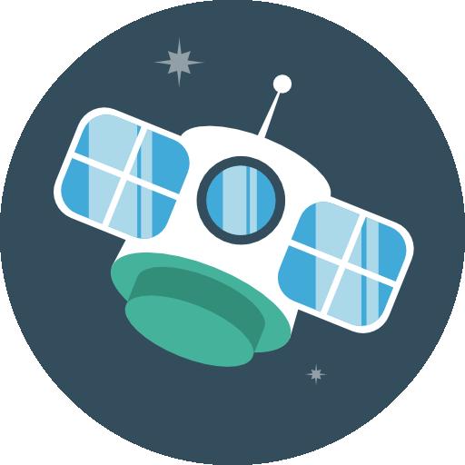 Satellite Icon Flat Iconset Flat