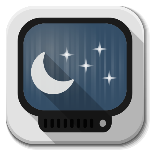 Apps Computer Screensaver Icon Flatwoken Iconset Alecive