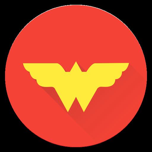 Girl, Hero, Saver, Super, Superhero, Woman, Wonder Icon