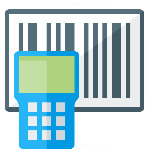 Iconexperience G Collection Portable Barcode Scanner Icon