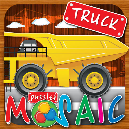 Animated Puzzles Cars Truck
