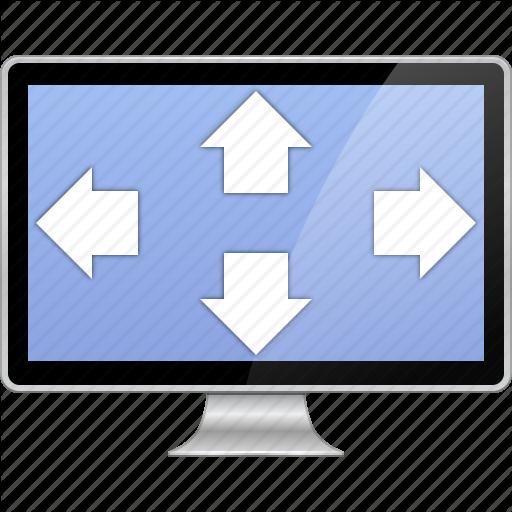 Desktop, Display, Enlarge, Fit To Screen, Full Size, Fullscreen