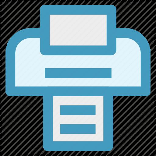 Fax, Fax Machine, Print, Print Machine, Printing, Teleflex Icon