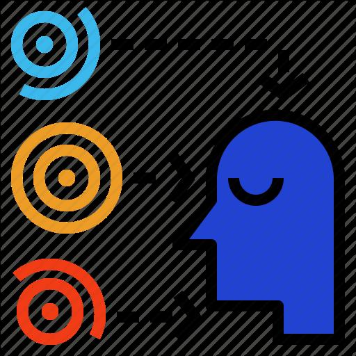 Absorb, Learn, Neural, Perception, Sensory Icon