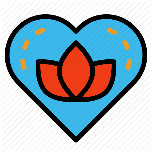 Heart, Meditate, Mind, Soul, Spirit Icon