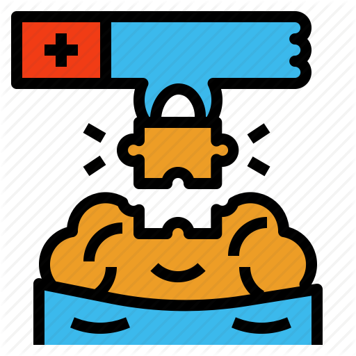 Psychiatrist, Psychologist, Remedy, Solution, Treatment Icon