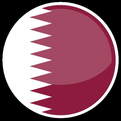 Qatar Icon Round World Flags Iconset Custom Icon Design