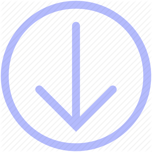 Arrow, Arrows, Circle, Down, Download, Downward Icon