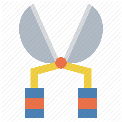Clippers, Garden, Scissors, Secateurs, Shears, Tool Icon