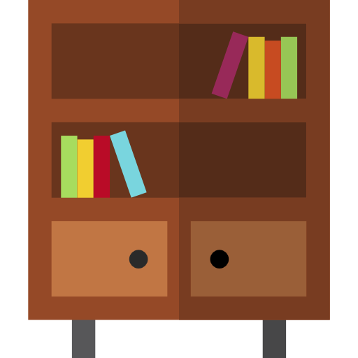 Furniture And Household Library Icon