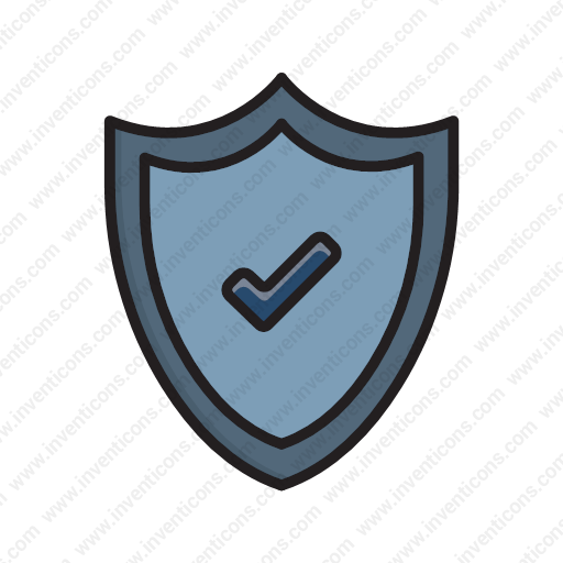 Download Shield,protect,secure,protection,security Icon Inventicons