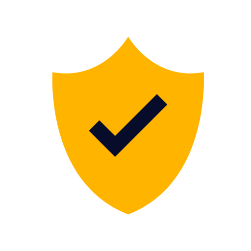 Shield, Secure, Verified, Security Icon Free Of Vivid