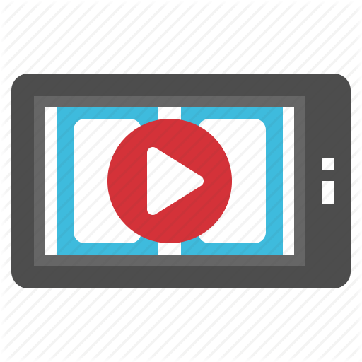 Clip, Mobile, Movie, Online, Video Icon