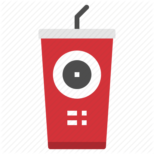 Cola, Cup, Drink, Glass, Snack Icon