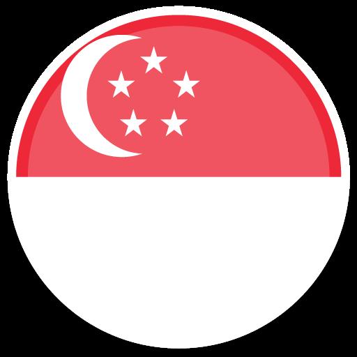 Singapore Icon Free Of Round World Flags Icons