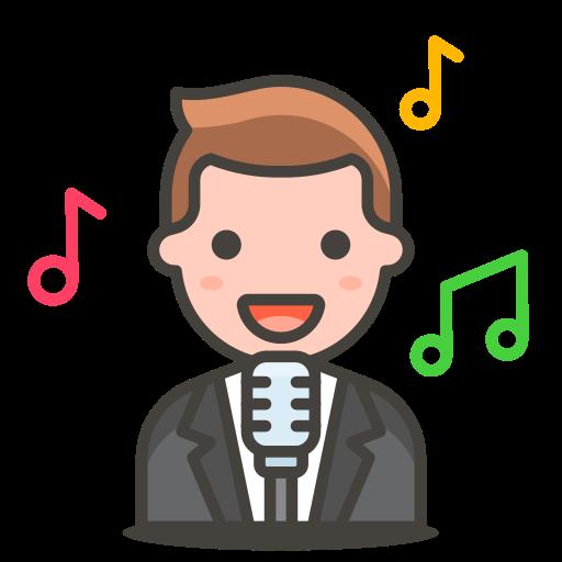 Man, Singer Icon Free Of Free Vector Emoji