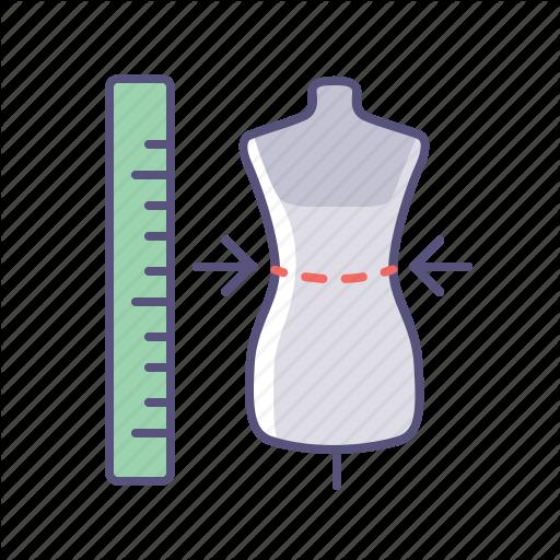 Clothes, Measure, Online Shop, Sizes Icon