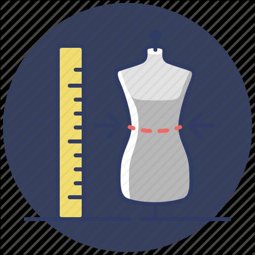 Clothes, Shopping, Size, Sizes Icon