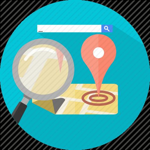 Find, Local, Search, Seo Icon Icon Search Engine