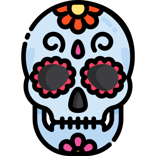 Mexican Skull Skull Png Icon