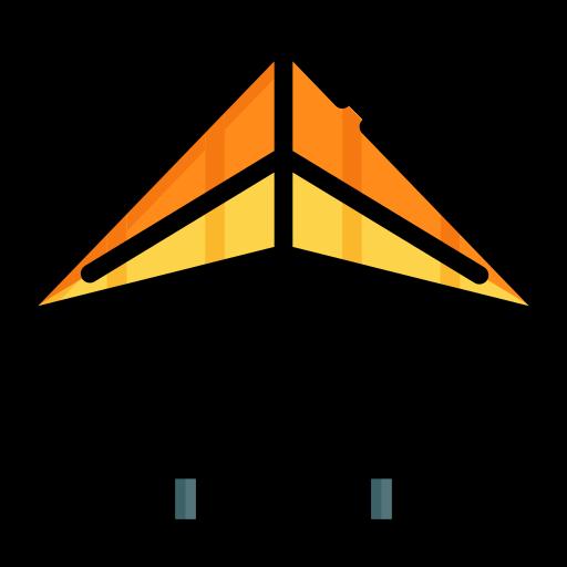 Hang Glider Skydiving Png Icon