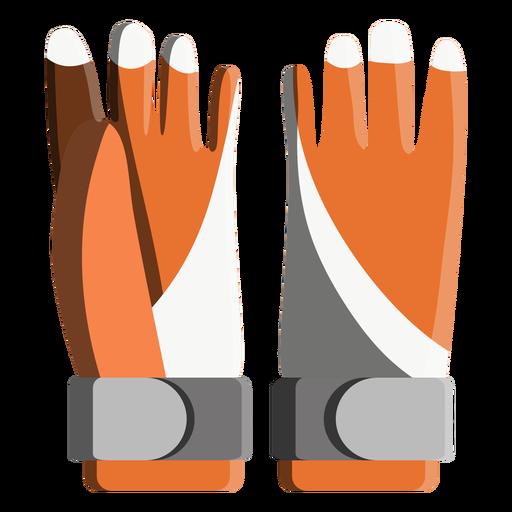 Snowboard Gloves Icon