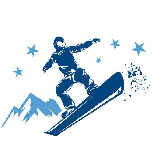 Winter Sports Stickers