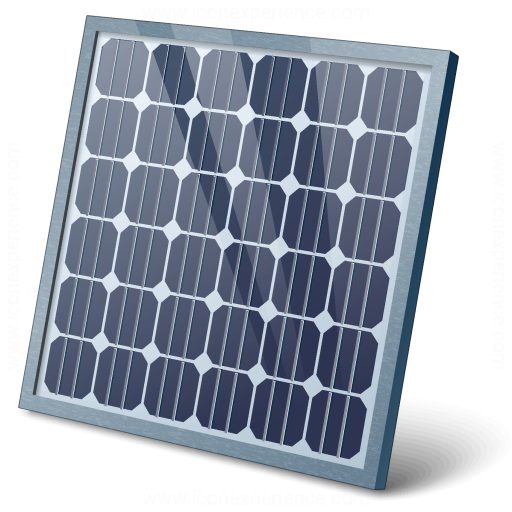Iconexperience V Collection Solar Panel Icon