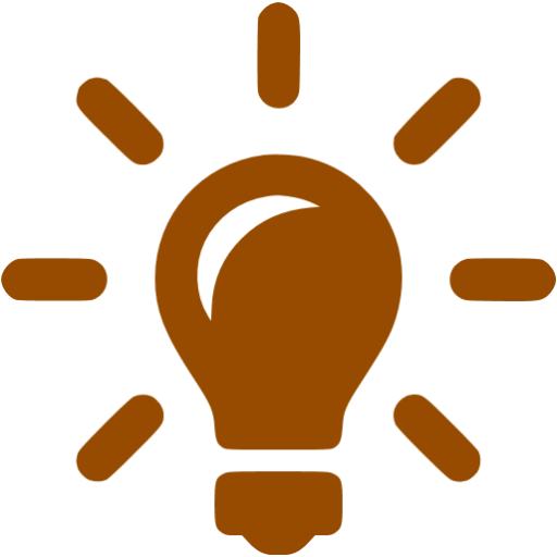 Brown Solutions Icon