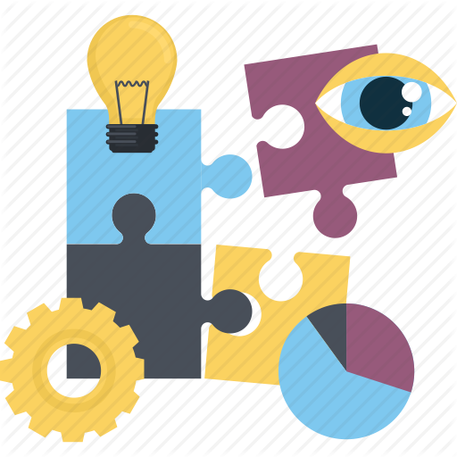 Business, Concept, Consulting, Process, Project, Solutions Icon