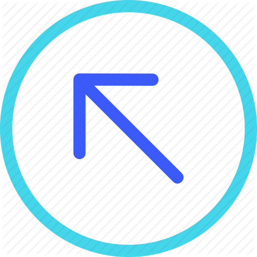 Arrow, Circle, Iconspace, Left, Up Icon