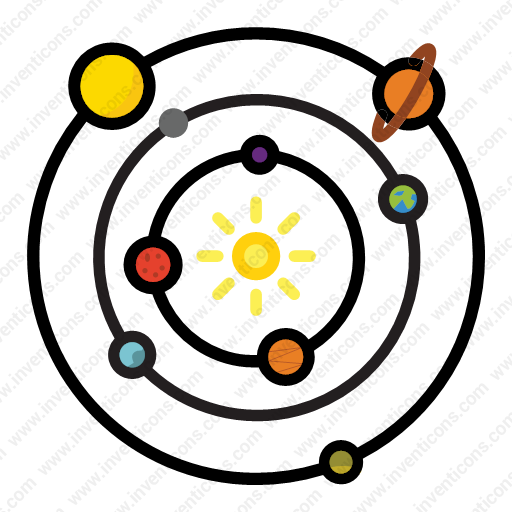 Download Astronomy,scifi,solar,space,system Icon Inventicons