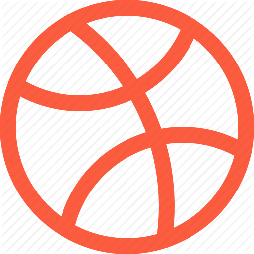Ball, Basketball, Dribbble, Game, Logo, Sport Icon