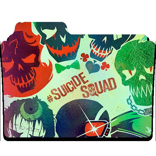 Suicide Squad Folder Icon