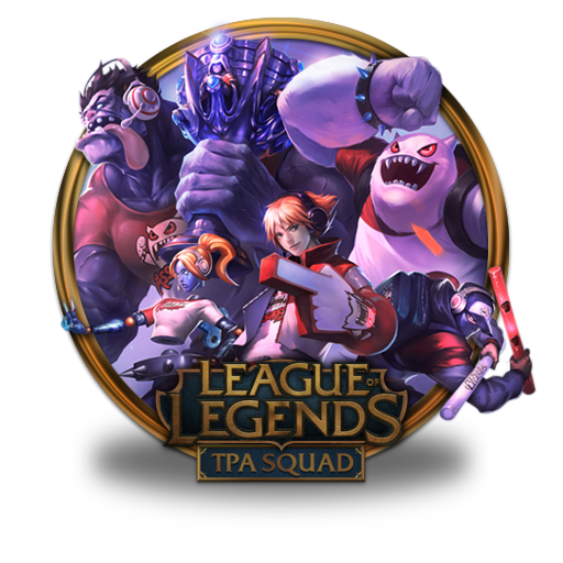 Tpa Squad Icon League Of Legends Gold Border Iconset