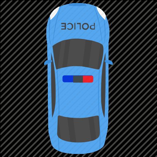 Cop Car, Police Car, Police Cruiser, Police Vehicle, Squad Car Icon
