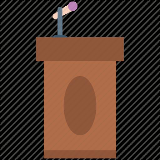 Conference Hall, On Stage, Podium, Presenter, Rostrum, Speaker
