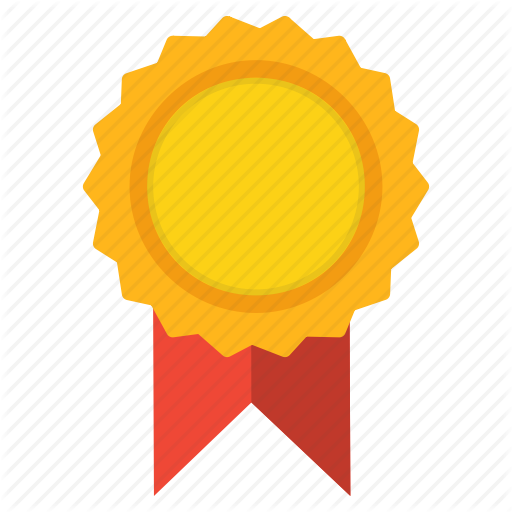 Badge, Certificate, Certified, Medal, Ribbon, Standard Icon