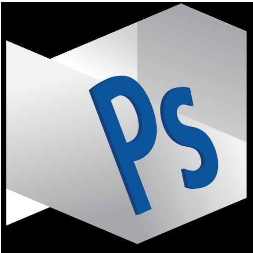 Photoshop Standard Icon Origami Adobe Cs Series Iconset Nokari