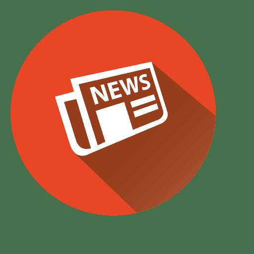 Newspaper Circle Icon