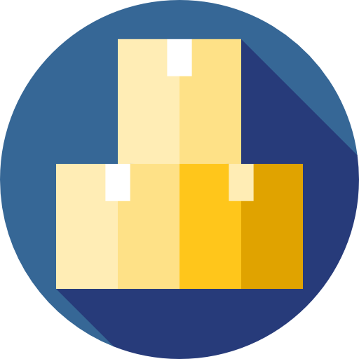Stocks, Shipping And Delivery, Warehouse, Stock, Boxes, Storage Icon