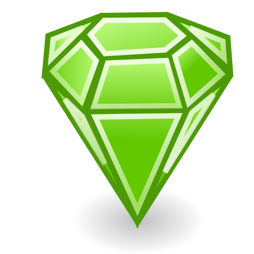 Emerald Stone Icon Png