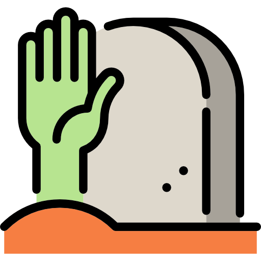 Rip, Tomb, Tombstone, Death, Halloween, Stone, Cemetery Icon