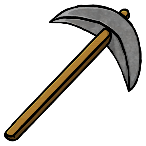 Stone, Pickaxe Icon Free Of Minecraft Icons