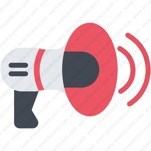 Download Bullhorn,loudspeaker,speaker,volume,strike Icon Inventicons