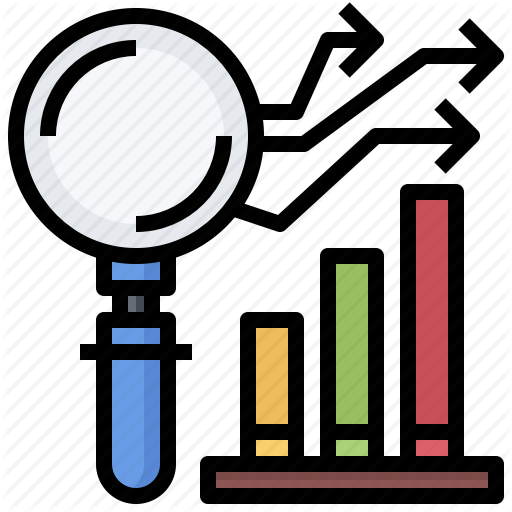 Analytics, Magnifying, Market, Research, Search, Study, Zoom Icon