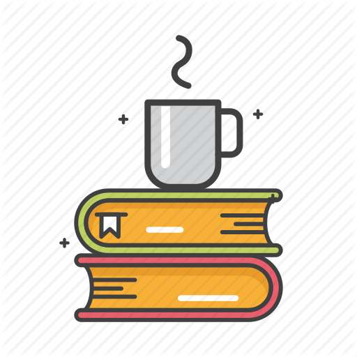Books, Coffee, Drink, General, Study Icon