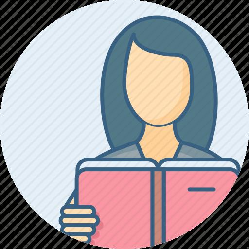 Education, Female, Girl, Lady, Study, Studying, Woman Icon
